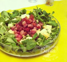 Insalata di noci e pancetta (Walnut and bacon salad) - ITA-ENG easy and fast recipe