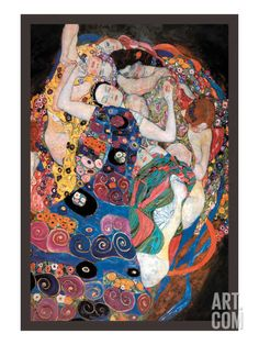 The Embrace Art Print by Gustav Klimt at Art.com