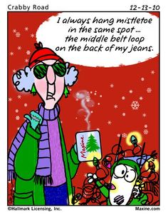 Christmas funny with Maxine
