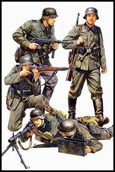 Kit de Infantería Alemana en Francia. Uniformes Militares, Imágenes Militares, Soldados De Guerra, Fotografía De Guerra, Ejercito Militar, Pintura De Guerra, Equipo Militar, Maquina De Guerra, Infanteria
