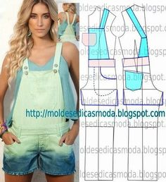 SHORT JEANS JEANS FEMININE - Custom Made Fashion Molds