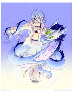 1000 images about anime dragons on pinterest dragon - Anime boy dragon ...