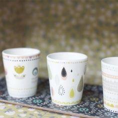 Set gobelets café