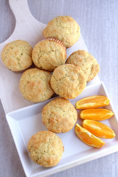 Orange Muffins by My Cooking Journey