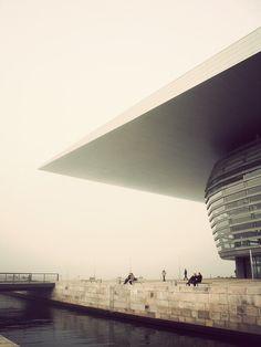 Copenhagen Architecture by Kim Høltermand, via Behance