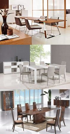 Modern Italian Dining Room Designs - http://interiordesign4.com/modern-italian-dining-room-designs/