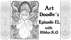 Watch me draw for my coloring book with Hildur.K.O - Episode 12
