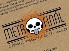 Metrofinál Transantiago, by Jonathan Walton, is a story game about the apocalypse.