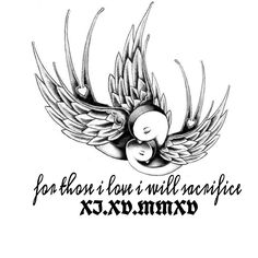 First tattoo I want, with Declan's birthday in old english