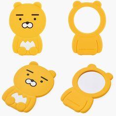 Kakao Friends Official Goods New Arrival Ryan Pocket Makeup Hand Mirror GKKF0141 #KakaoFriends
