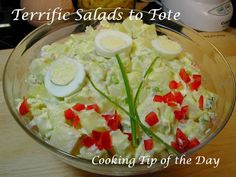 Cooking Tip of the Day: Terrific Salads to Tote to a Summer Gathering