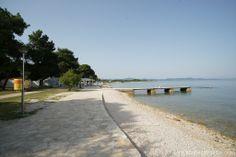 Der wunderschöne Strand des Campingplatzes...