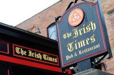 Irish Times Pub & Restaurant, 14 Phila Street, Saratoga Springs