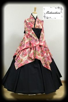 modern kimono at DuckDuckGo Japanese Outfits, Japanese Fashion, Asian Fashion, Cute Fashion, Girl Fashion, Fashion Outfits, Fashion Design, Pretty Outfits, Beautiful Outfits