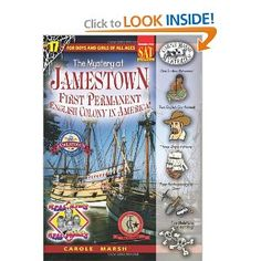 Amazon.com: The Mystery at Jamestown (Real Kids, Real Places) (9780635063151): Carole Marsh: Books
