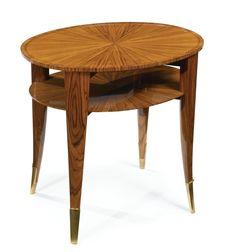** Émile-Jacques Ruhlmann (1879–1933), TWO-TIER LOW TABLE, MODEL 1001 NR