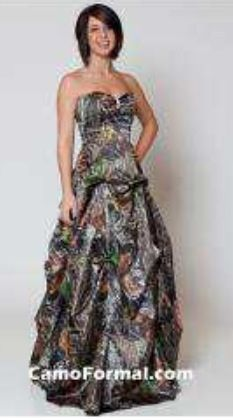This Camo Formal Can Be Worn As An Informal Wedding Gown, Prom Or Any Other Special Occasion. Lots Of Accessories Are Available In Mossy Oak New Breakup Camouflage. AKA My Prom Dress! Camouflage Prom Dress, Camo Wedding Dresses, Camouflage Wedding, Camo Dress, Straps Prom Dresses, Grad Dresses, Cute Dresses, Strapless Dress Formal, Wedding Gowns