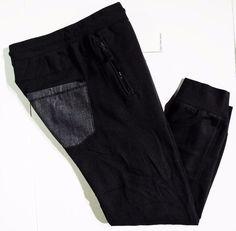 Calvin Klein Jeans collection men's jogger fleece pants size large  #CalvinKleinJeans #Pants