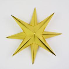 Christmas Decorations Orgiami Star tutorial step 10 - Mollie Makes