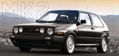 VW GTI II - 2nd GTi I owned - not as much fun as MK I, but still a great car.