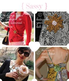 how to wear a brooch via @styleofsam