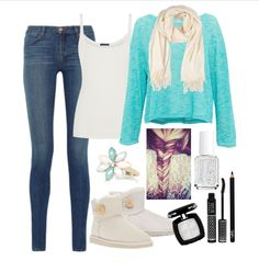Outfit inspired by Frozen. Nice