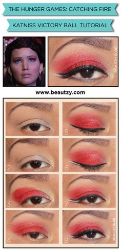 The Hunger Games: Catching Fire - Katniss Victory Ball Makeup Tutorial
