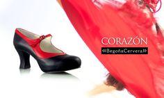 Os deseamos un fin de semana cargado de sorpresas e ilusión!!  Mod. CORAZÓN ♡ www.zapatosconflamenco.com We wish you a weekend of surprises and joy!!