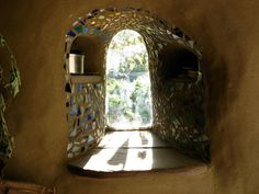 earthship home ideas cob houses, earthship home ideas sustainable living, earthship home ideas floor plans, earthship home ideas building, earthship home ideas bottle wall Cob Building, Building A House, Building Costs, Green Building, Natur House, Earthship Home, Tadelakt, Natural Homes, Huge Windows