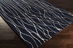 NY-5239: Surya | Rugs, Pillows, Art, Accent Furniture navy/ivory master baath