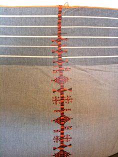 African textile similar to Navajo!