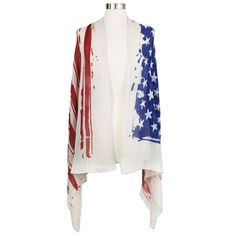 Sylvia Alexander has amazing items for the #ElectionYear with #shawls, #scarves, and #sunglasses! #fashion #beauty #patriotic #flag