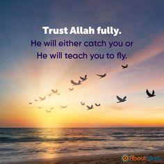 Trust Allah fully ❤️