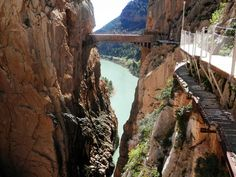World's most dangerous walkway re-opens Spanish Towns, Granada Spain, Balearic Islands, Canary Islands, Andalusia, Weekend Getaways, Places To Visit, Africa, Vacation