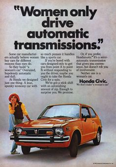 1975 honda-civic-not-a-womans-car-1.jpg (607×875)