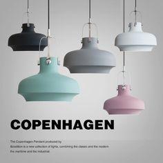 Arañas nórdicos nuevo post-moderno y minimalista restaurante creativo lámparas sola cabeza Americana lámparas industriales