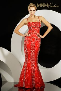 Step into perfection wearing this stunning beaded spaghetti mermaid red carpet dress. This taffeta mermaid dress is showered in beads all through the top to the bottom of the skirt. It fairy tale sweetheart neckline a beaded straps will turn heads. Mermaid style accentuates your curves with a peeping lace inside leading to a small train. Rows of beads curve along your silhouette.     Sizes Available: 2-18  Colors: Green, Silver, Red, Dark Green  Embellishments: Jewels, Rhinestones  $680