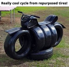 Repurposed Tires Cycle