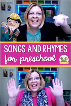 Preschool Songs and Rhymes for Home or Classroom - Pre-K Pages