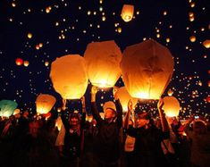 White Paper Chinese Lanterns Party Decor by AlwaysLou on Etsy