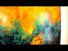 Colorful Abstracts By Santa Fe Artist Cody Hooper - YouTube  .its actually pencil and acrylic shading. really like the oil-based varnishes the best. I have use resin but do not like the imperfections in the finish. Using heavier textures makes it do funky stuff. Then you have to put 1/4 thick coat on making the panels really heavy. This comes close to the same feel. The key is putting on multiple thick coats. The pieces on the table had 4 coats..the ones on the wall had two.