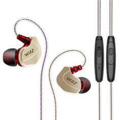 Newest Original WRZ X6 In-Ear HIFI Earphone Zircon Sports Bass Noise Cancelling Earphones With Microphone For IPhone Xiaomi Mp3