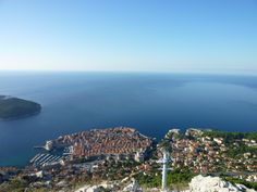 Srd Mountain. Best view of Dubrovnik