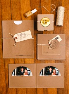 Anna Routh Photography packaging