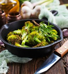 """We're always here to give you incentive to eat healthier. Of course when it comes to this Oven Roasted Broccoli recipe by JoyFoodSunshine, its not so much of a difficult ask. Like many of the other recipes she dishes out, you're in for a good time while also providing your body the good it needs. Eat healthy and grill on! Ingredients broccoli florets olive oil garlic powder sea salt paprika ground black pepper """"SO GOOD! MY HUSBAND SAID HE WOULD EAT BROCCOLI ALL THE TIME IF IT WAS ALWAYS LIKE…"""