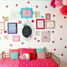 For the young at heart: | Community Post: 17 Gorgeous Gallery Walls You'll Want To Recreate In Your Own Home