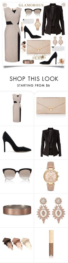 """""""Classic"""" by southindianmakeup1990 ❤ liked on Polyvore featuring Roland Mouret, Accessorize, Gianvito Rossi, Alexandre Vauthier, Christian Dior, Michael Kors, Abercrombie & Fitch, Charlotte Russe, Urban Decay and Dolce&Gabbana"""