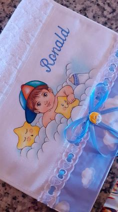 Cartoon Cow, Dory, Decoupage, Projects To Try, Textiles, Baby Shower, Babys, Kids Coloring, Baby Painting