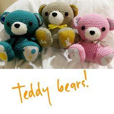 I made some teddy bears!