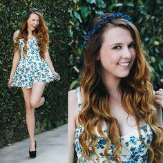 love floral dresses